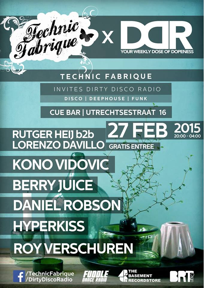 Technic Fabrique X Dirty Disco Radio