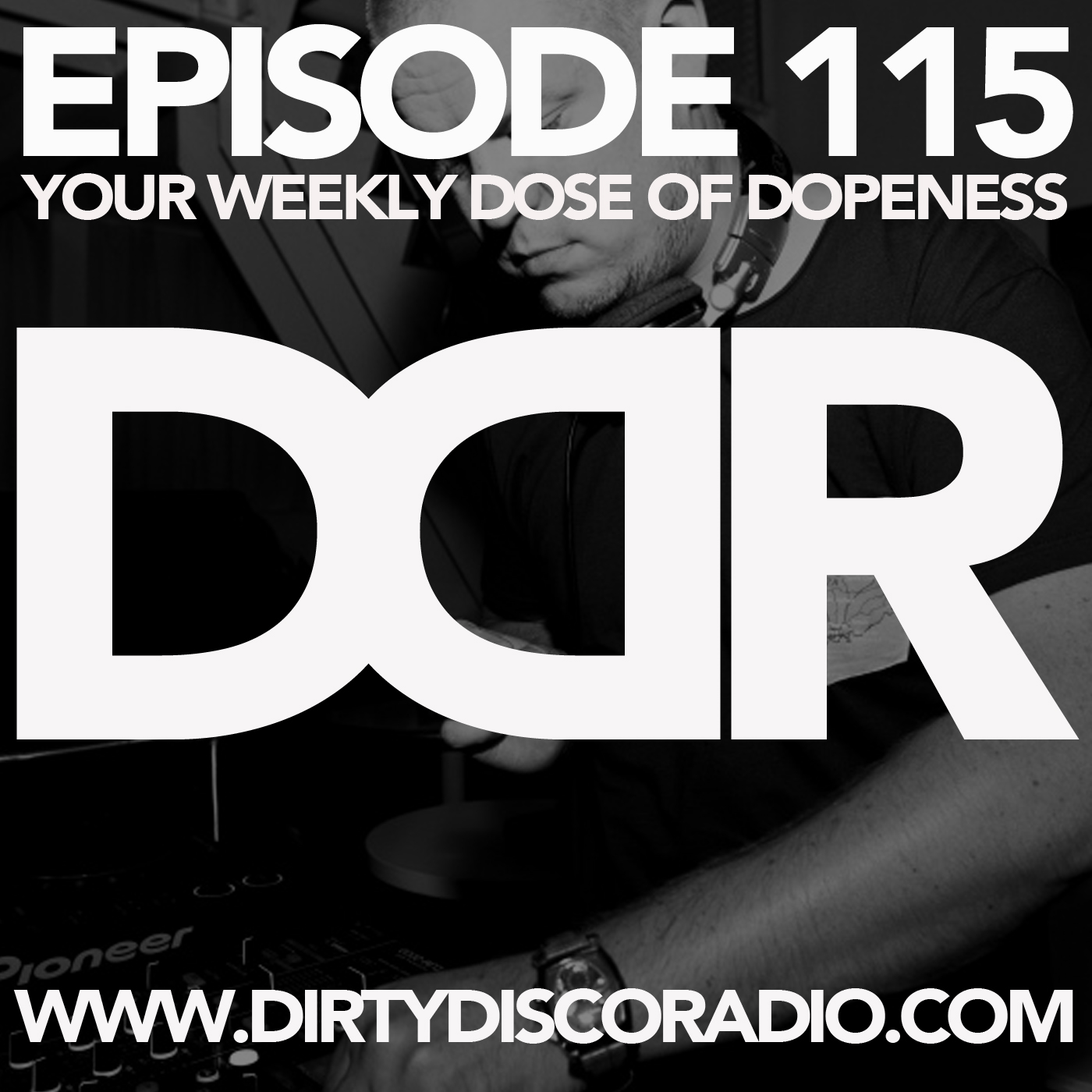 dirty disco radio 115