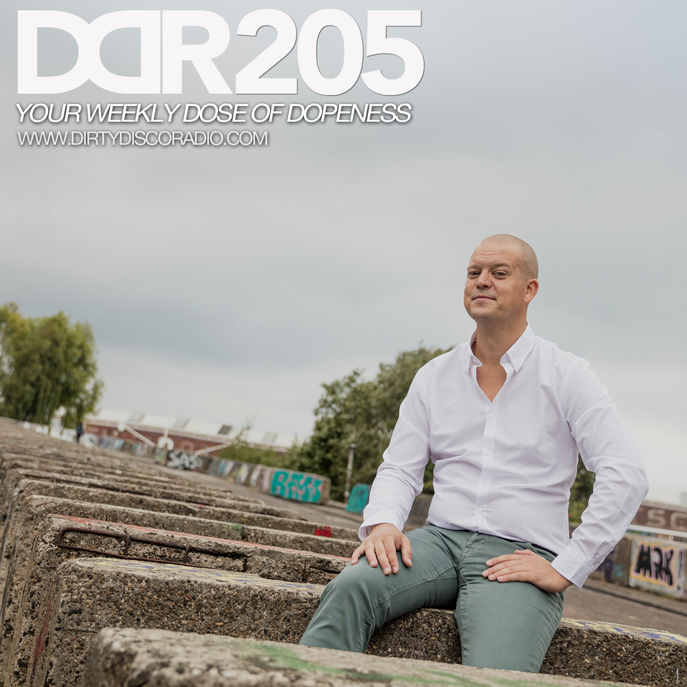 Dirty Disco Radio 205 - The Amsterdam Deephouse Journey