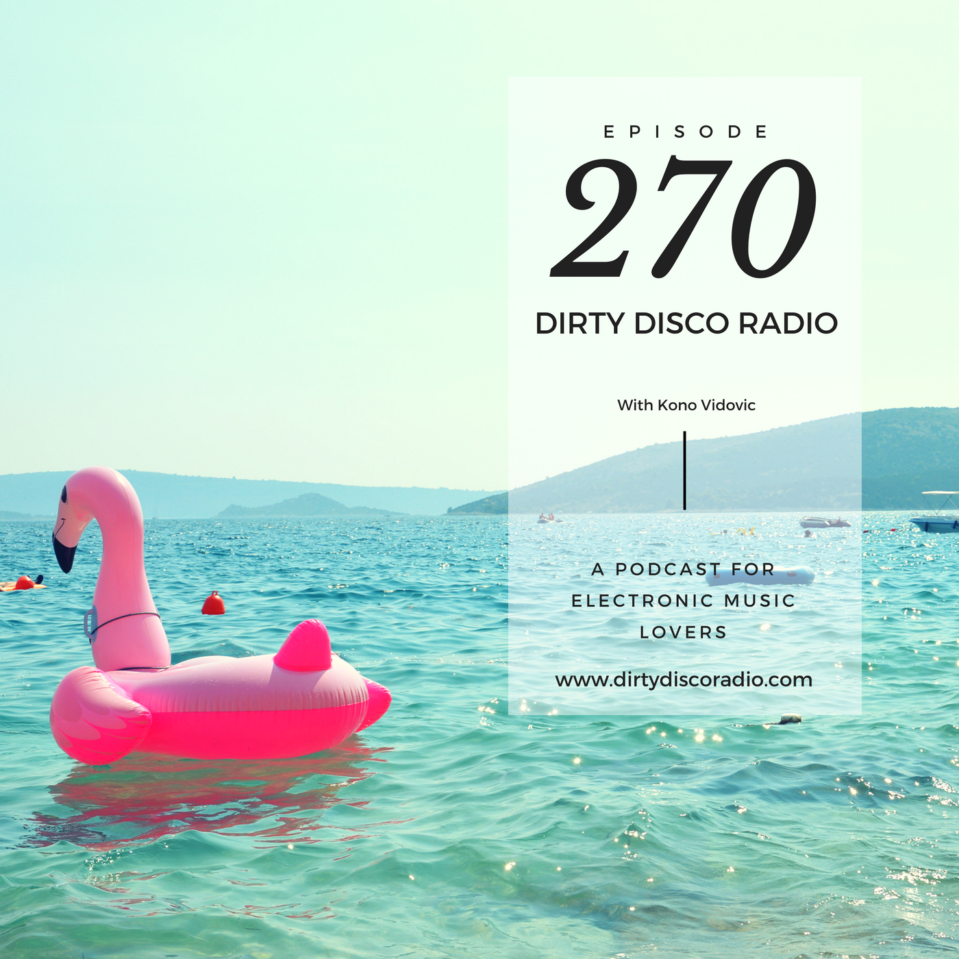 Back in the studio - Dirty Disco Radio 270