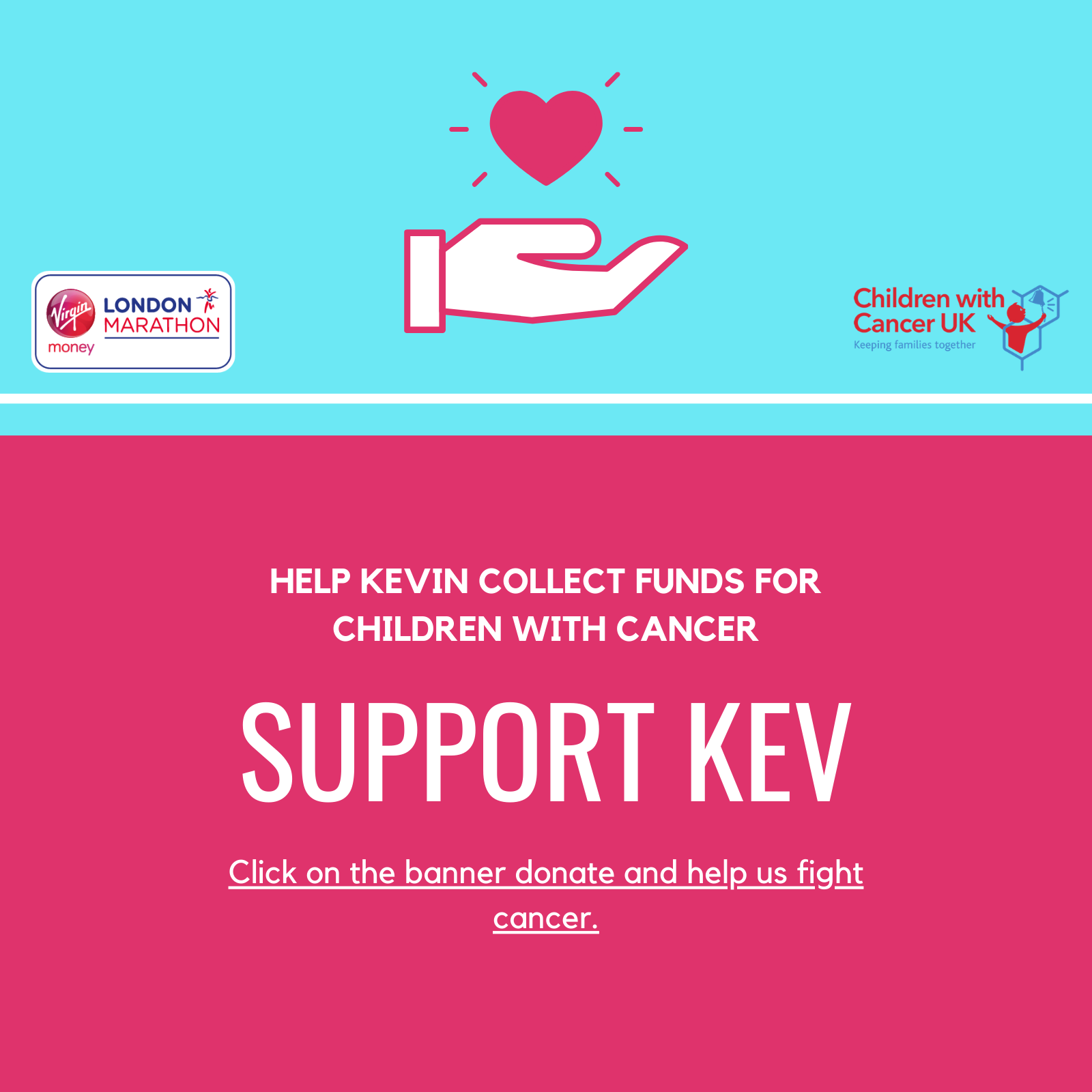 Kevin Relf | London Marathon 2020 | Fundraiser | Children With Cancer