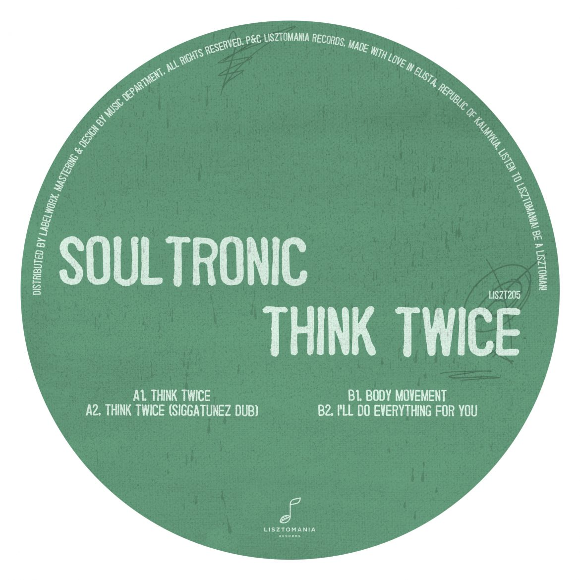 Soultronic - Think Twice