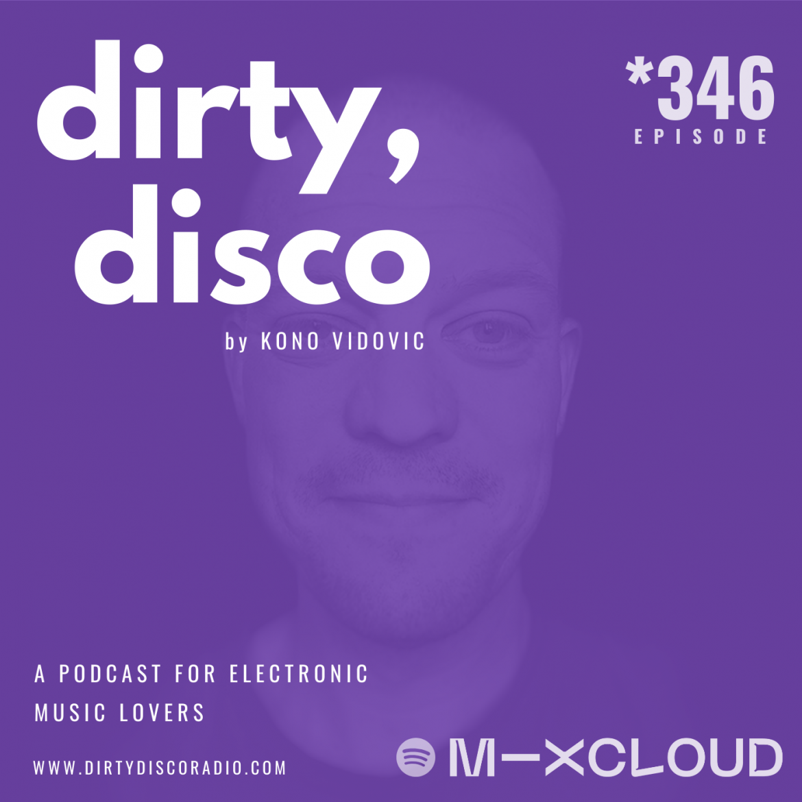 Essential mix | Electronic Music Podcast 346 | Dirty Disco with Kono Vidovic