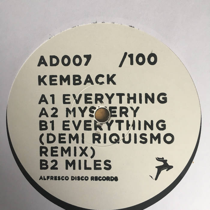 Kemback - Everything EP