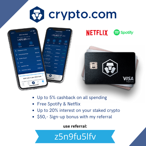 Crypto sign-up bonus