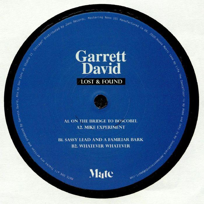 Garret David - Lost & Found   Mate Spain
