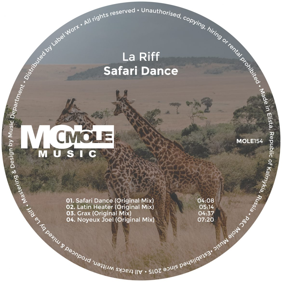 La Riff - Safari Dance | Mole Music