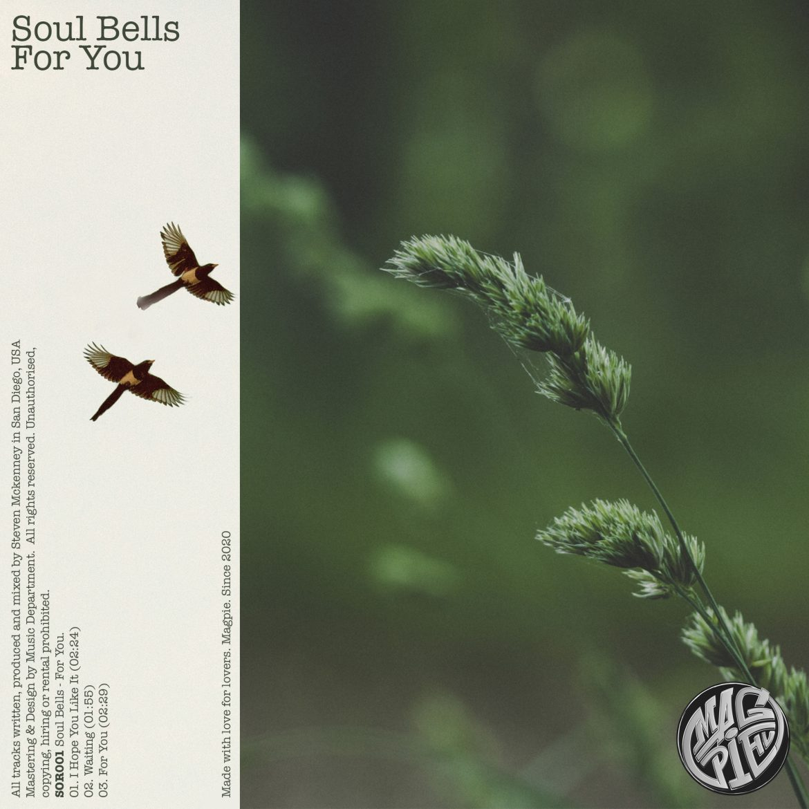 Soul Bells - For You | Magpie
