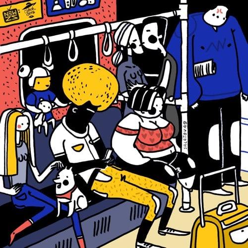 Newzs & Dormidontov - In The Bus | Mask Sexy