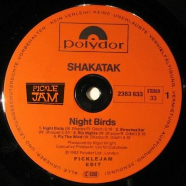 Shakatak - Night Birds (Picklejam Edit)