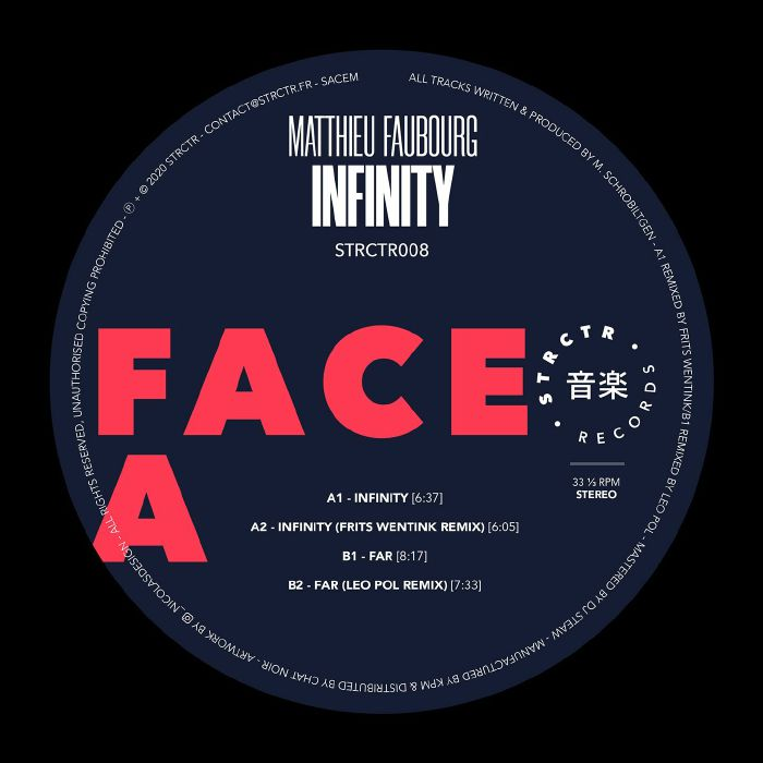 Matthieu Faubourg - Infinity EP | STRCTR