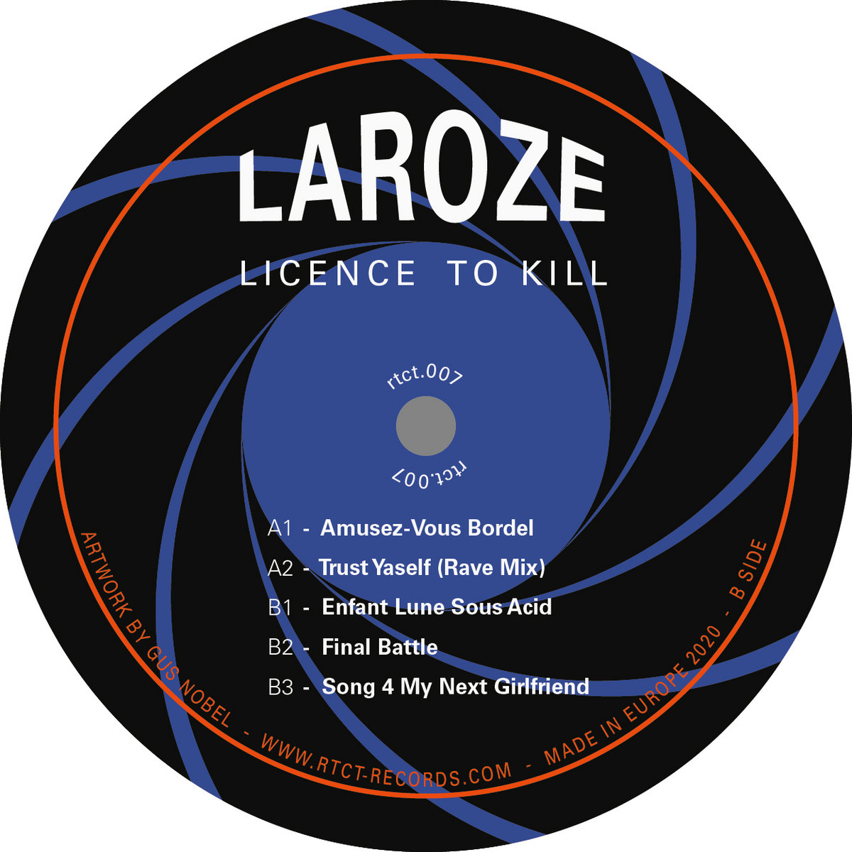 Laroze - Licence To Kill