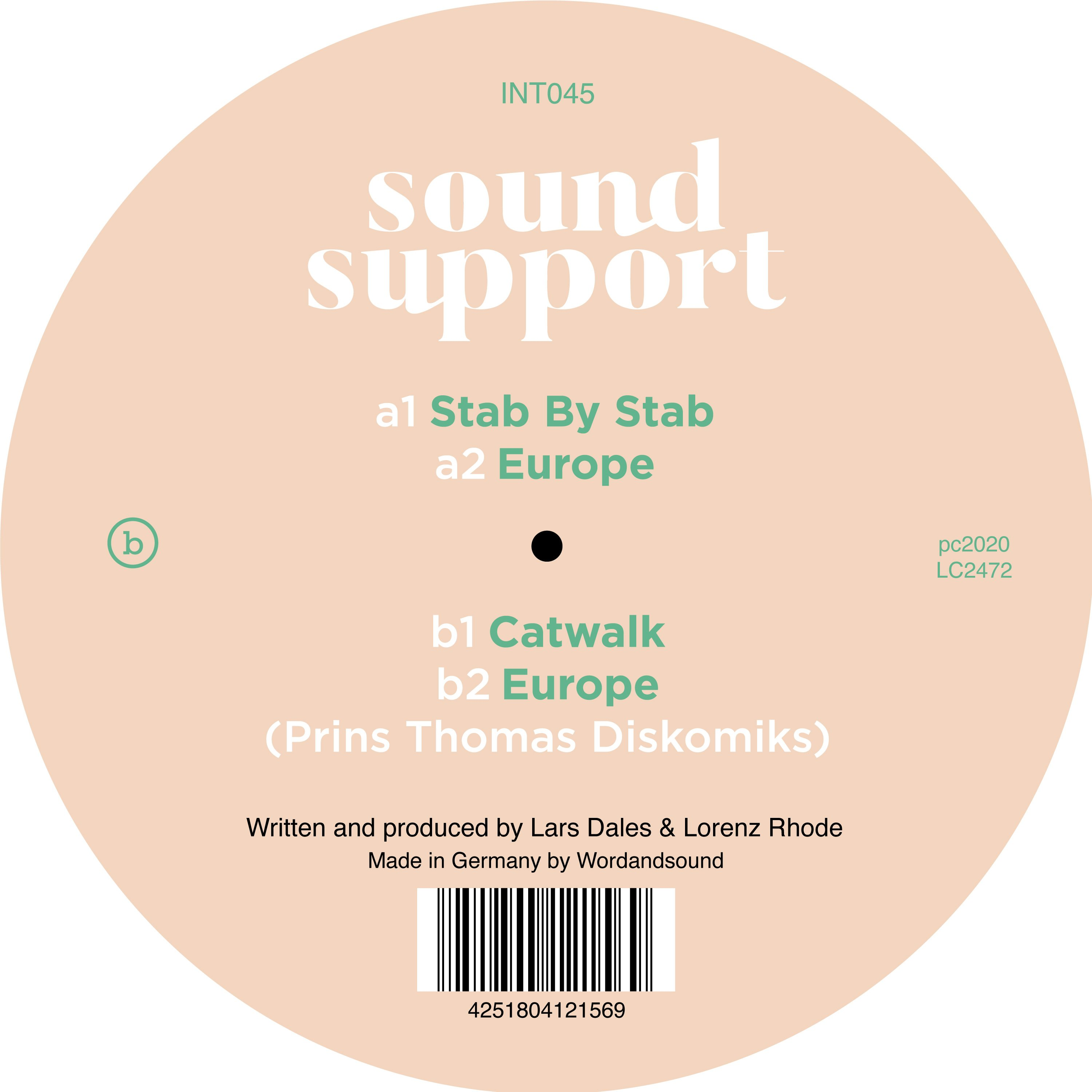 Sound Support - Stab By Stab
