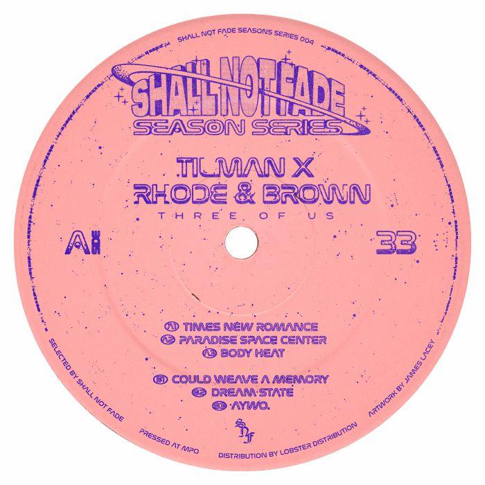 Tilman x Rhode & Brown - Three Of Us