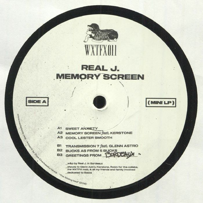 Real J - Memory Screen