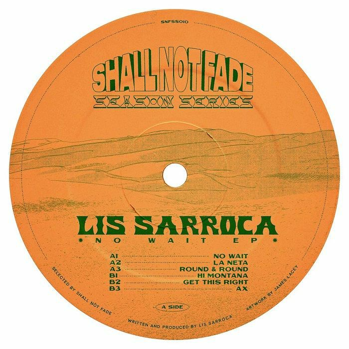 Lis Sarroca - No Wait LP | Shall Not Fade Records