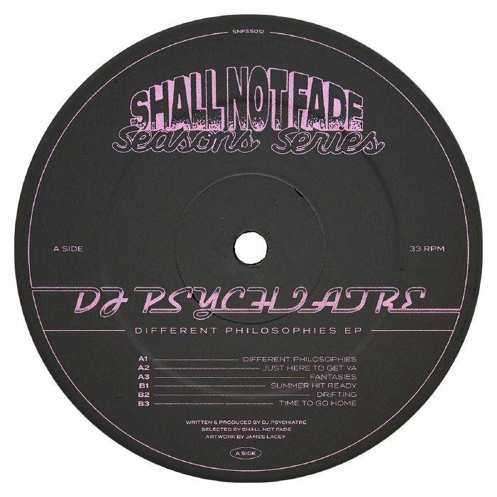 DJ Psychiatre - Different Philosophies