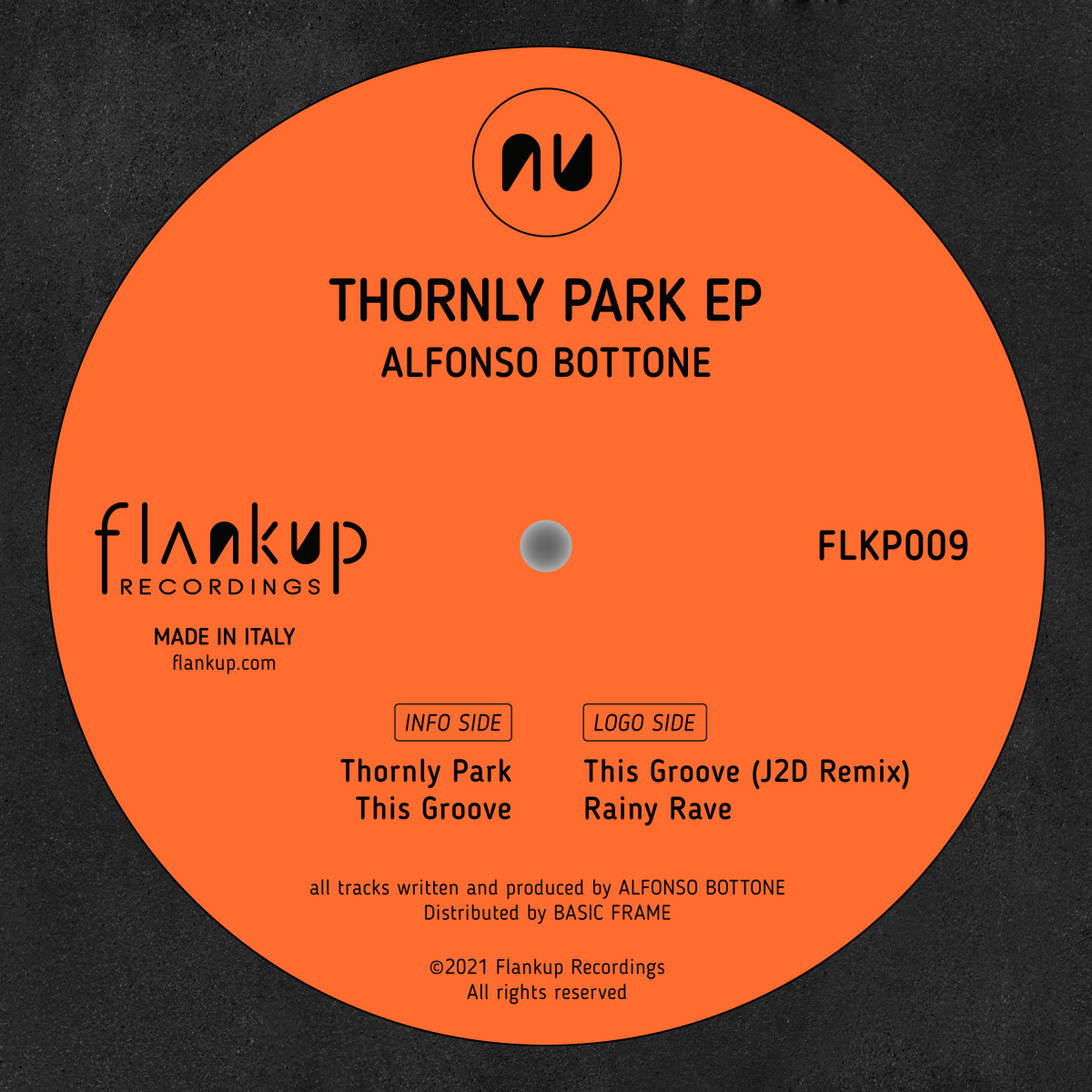 Alfonso Bottone - Thornly Park | Flankup Recordings