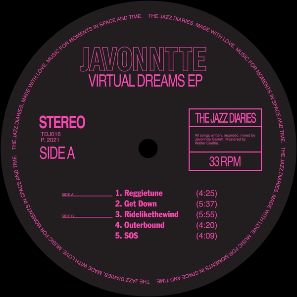 Javonntte - Virtual Dreams