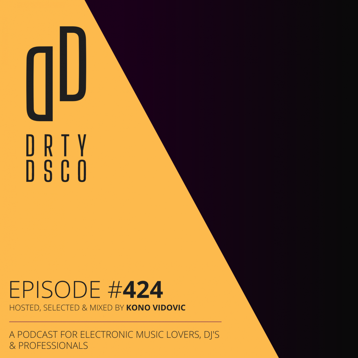 Dirty Disco 424 Cover